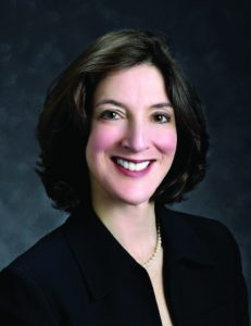A head-and-shoulders professional photo of Carol Karp, MD.