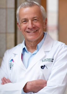 A head-and-shoulders photo shows Jean-Frederic Colombel, MD, of The Mount Sinai Hospital, New York.