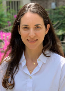 A head-and-shoulders photo shows Maayan Levy, PhD, of the University of Pennsylvania Perelman School of Medicine.